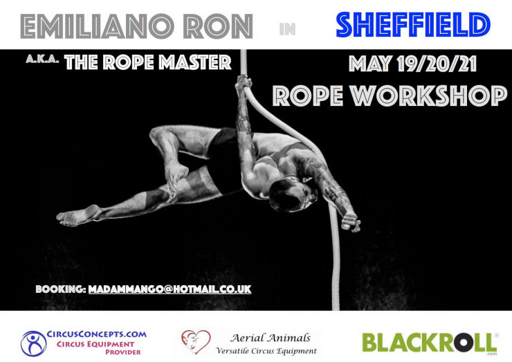 Emiliano Ron The Rope Master Rope Workshops